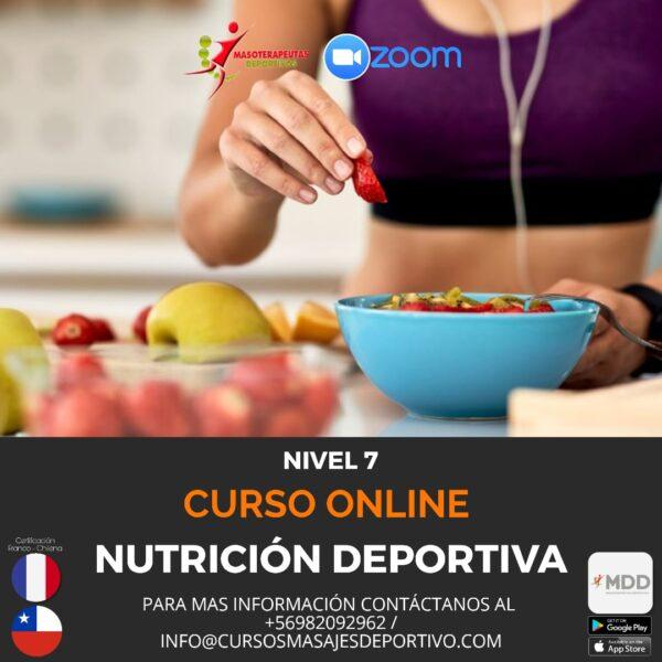 Curso Online - Nivel 7 - Nutricion Deportiva